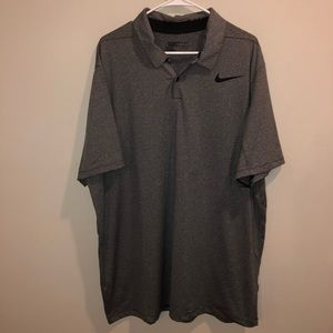 Nike Golf Dri-Fit standard for polo shirt striped